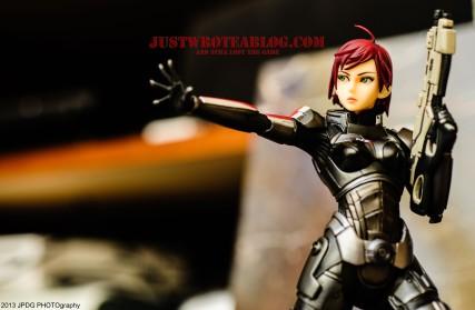 Shepard with gun attachment