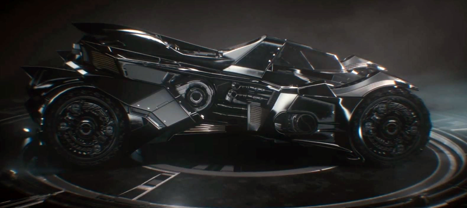 The new Batmobile, looks pretty sick