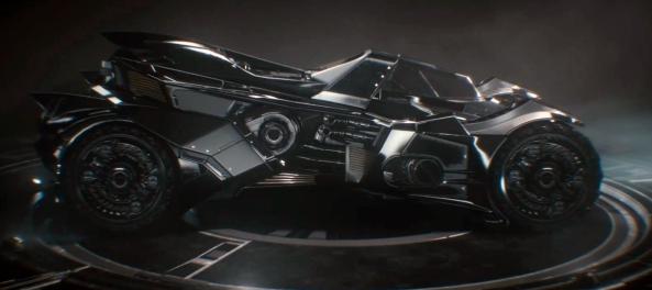The new Batmobile, looks pretty sick