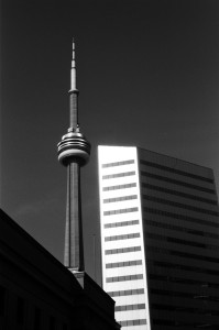 The CN Tower and Citi Group Building