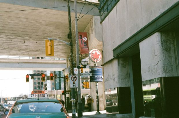 York Ave. and Lakeshore Blvd. Under the Gardiner Expressway (Ok...I lied, perhaps this one was my best exposure?)
