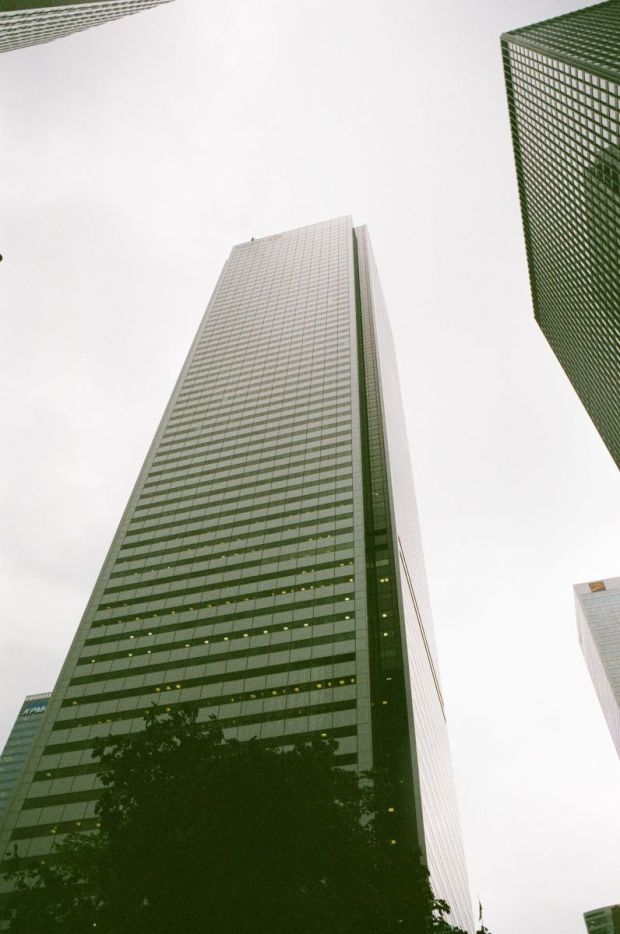 First Canadian Place...and a muddy grey sky.
