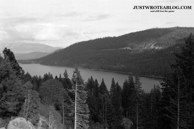 Recovering the sky - Photo of Donner Lake
