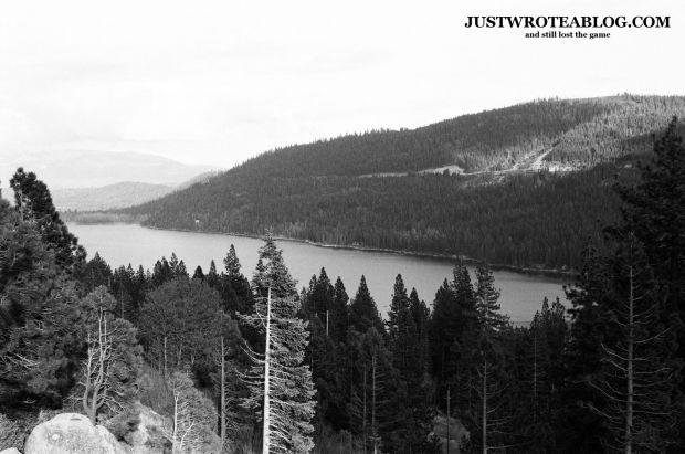 Unadjusted photo of Donner Lake