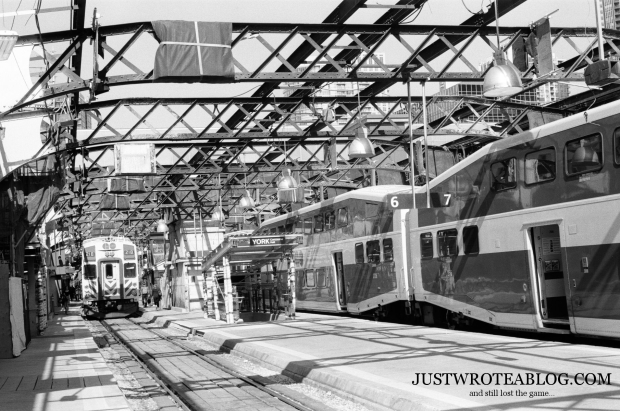 Union Station GO Train Commuter Platforms