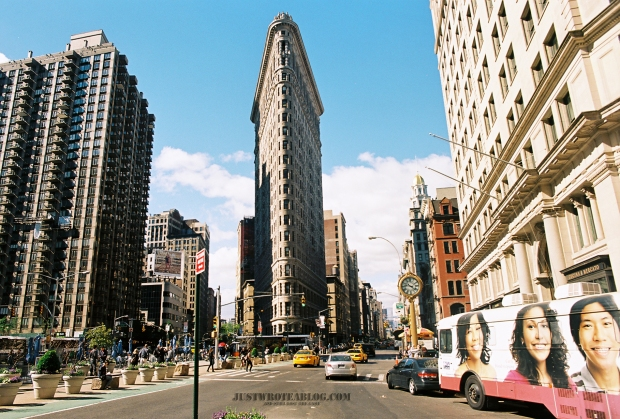 What can I say, I like the flat Iron building.
