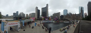 Nathan Phillips Square transformed into Pan Am Central