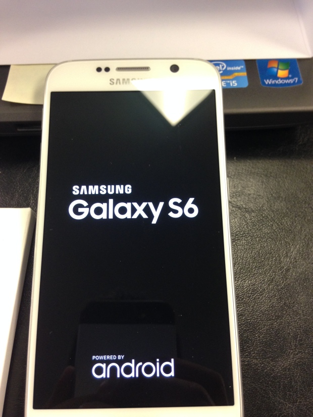 Galaxy S6 Booting Up
