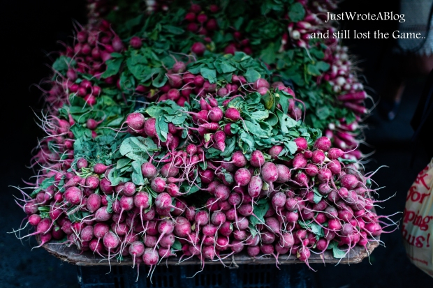 Beets by Me:  1/1600 sec.  F/1.2 ISO-200