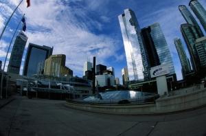 The Metro Toronto Convention Centre South Building. (Velvia 50, 14mm, F32, 1/15)