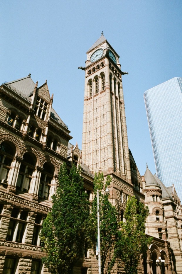 Old Toronto City Hall.