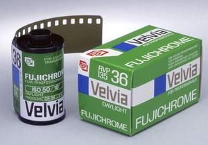 Fujifilm's Legendary Fujichrome Velvia 50 Slide Film