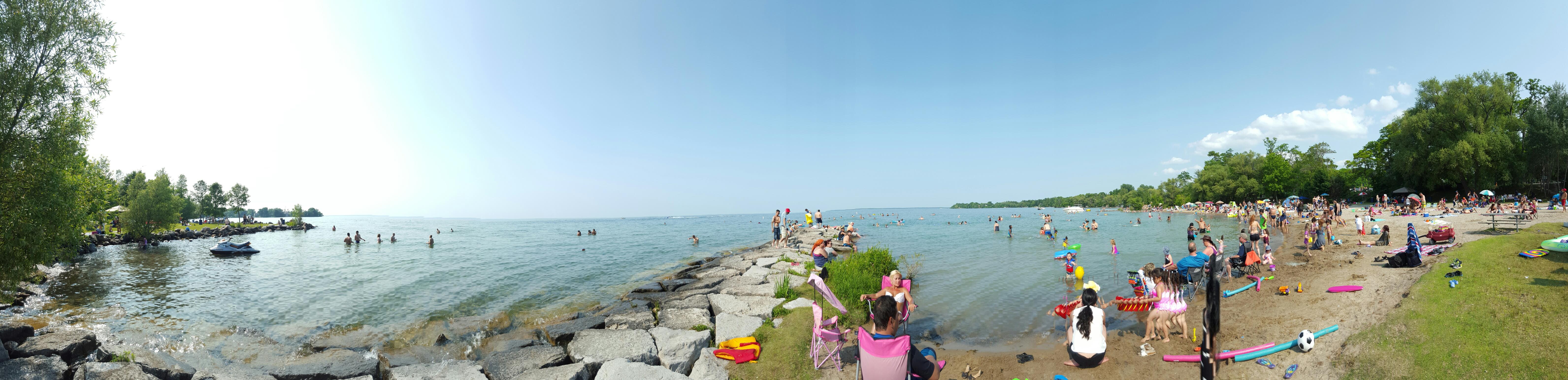 Lake Simcoe.