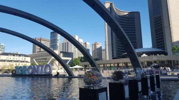 Freedom Arches at Nathan Phillips Square