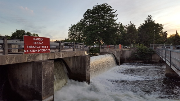 Another dam at Smiths Falls, ON