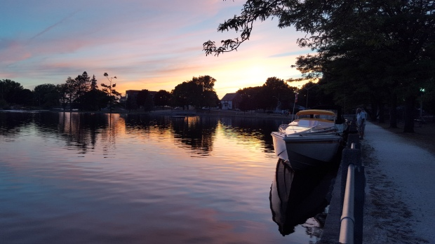 """Enjoy the Sunset in a Boat!"" Rideau Canal, Smiths Falls, ON"