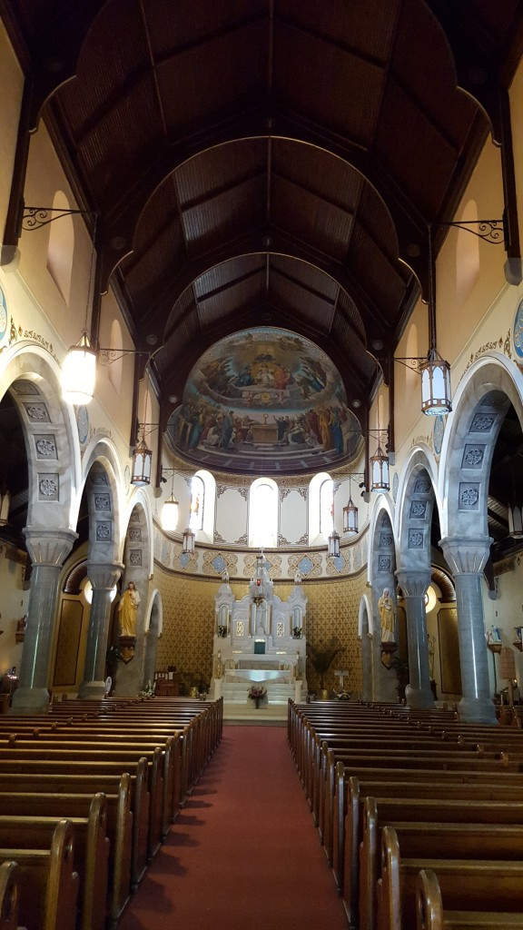 Interior of St. John The Evangelist Church