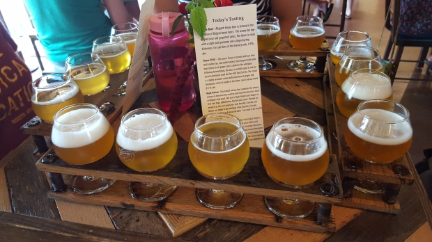 Free flight, courtesy of Allagash Brewing Co.