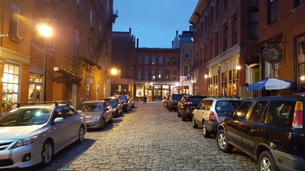 Cobblestone Streets...