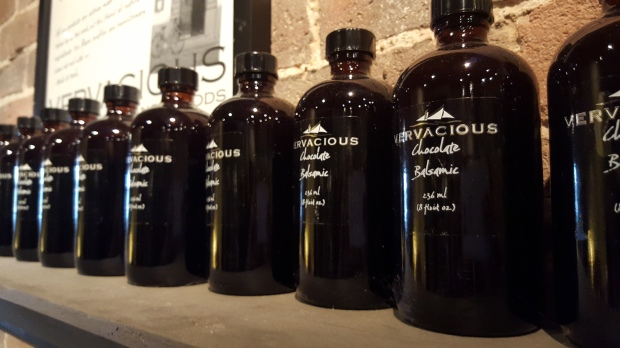 Bottles of Balsamic Vinegar, Vervacious, Portland ME