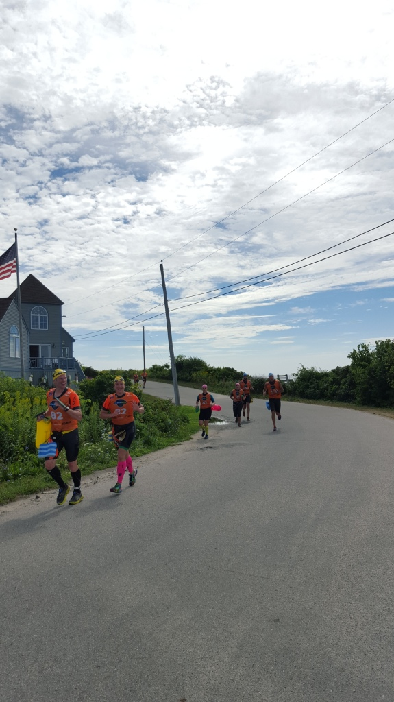 Casco Bay Swim Run Racers, Peaks Island, ME