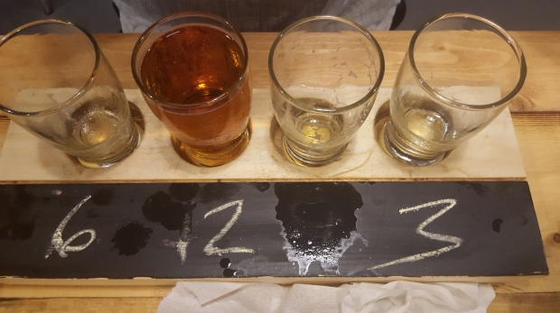 Ooh...spilled some... Shipyard Brewing Co., Portland, ME