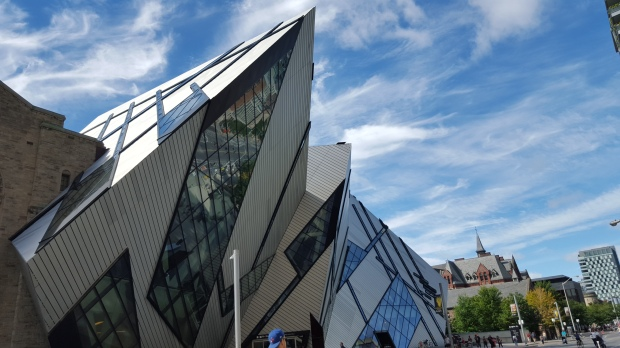 The Michael Lee Chin Crystal - part of the Royal Ontario Museum.
