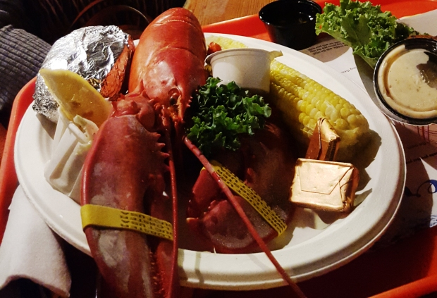 Lobster Dinner from Portland Lobster Co.