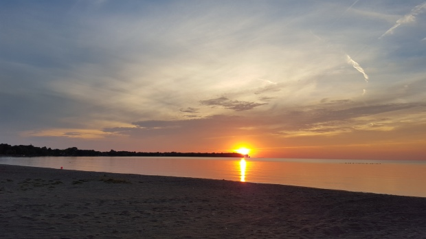 """I wish sunsets were always this beautiful"" Scudder, Pelee Island, ON"
