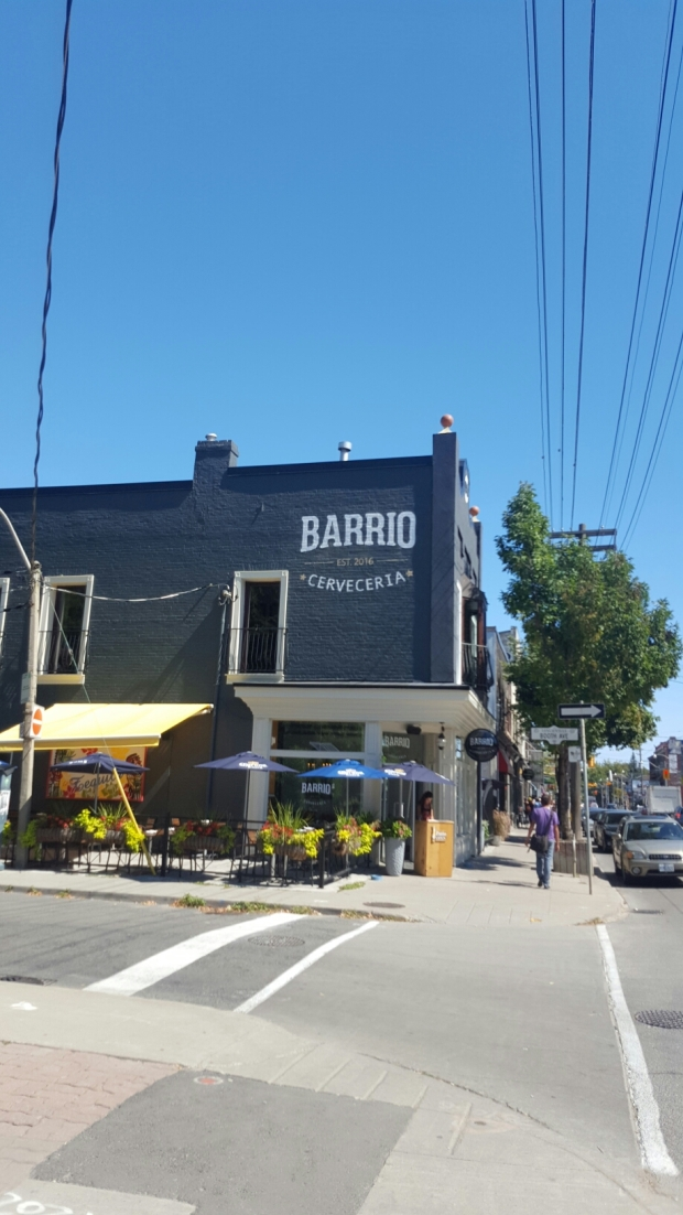 Bario Restaurant, as seen from the West.